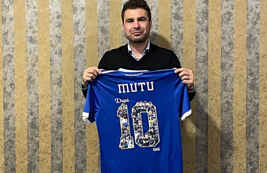 """OFICIAL. Adrian Mutu a semnat cu FC U Craiova! Ce salariu va avea """"Briliantul"""" şi ce obiectiv i-a pus Adrian Mititelu"""