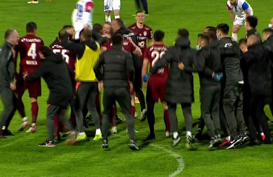 CFR Cluj, campioana României 2021! Ardelenii, bucurie fără margini după ce au câştigat al patrulea titlu consecutiv!