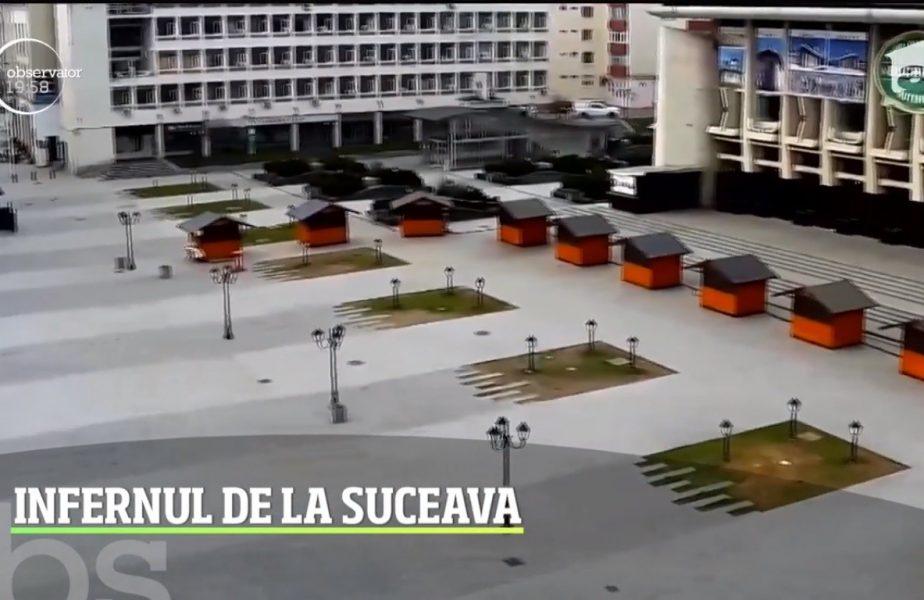 Infernul de la Suceava. Mai mulți sportivi, blocati în primul oraș din România aflat în carantină totală