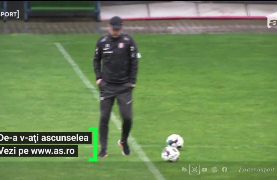 Edi Iordanescu i-a lasat in offside pe clujeni: i-a anuntat ca pleaca si daca ia titlul!