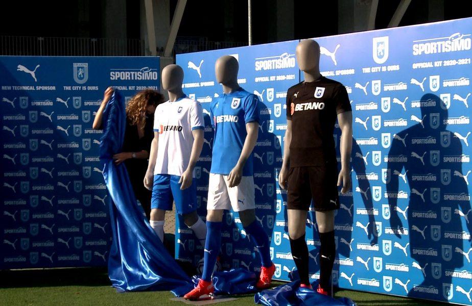 """""""Leii"""" din Bănie şi-au prezentat echipamentul în care speră să câştige titlul. """"Suntem similari cu cei din echipa Italiei"""""""