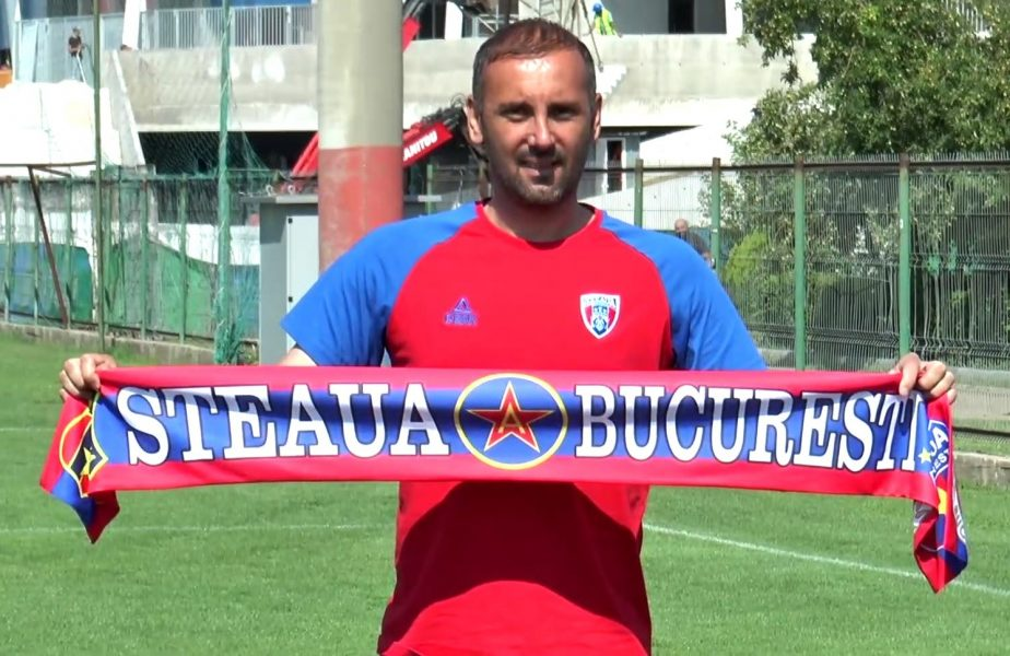 Boştină s-a întors la Steaua