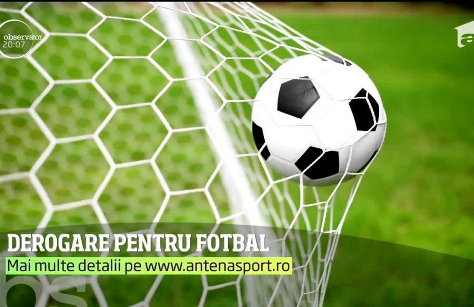 Liga a propus doua date pentru reluarea campionatului si merge peste Guvern sa ceara derogare pentru jucatori, sa se poata antrena