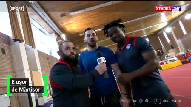 De 1 martie, rugbyştii s-au dat în spectacol în fața gimnastelor