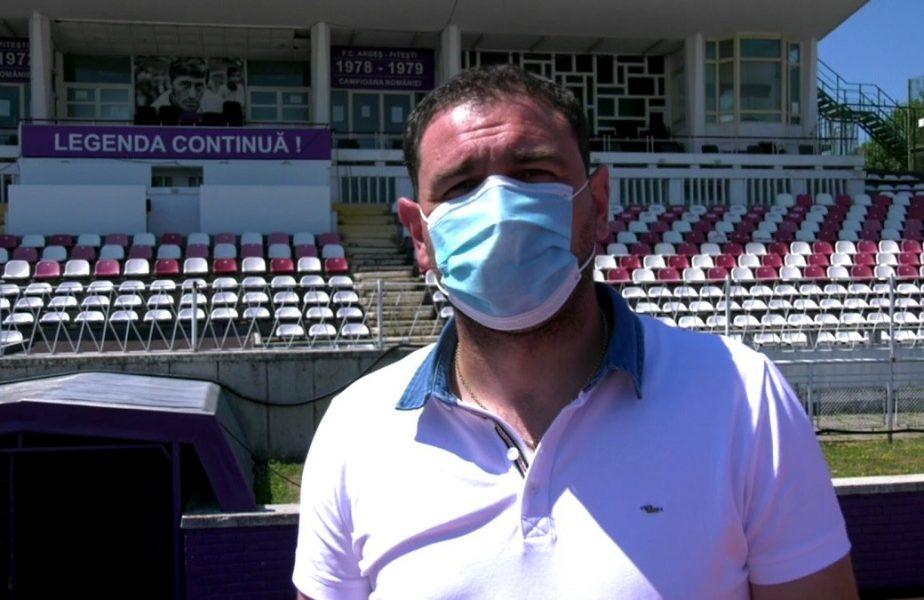 Fotbaliştii de la FC Argeş au aflat dacă trebuie să poarte mască pe teren. Anunţul făcut de autorităţi