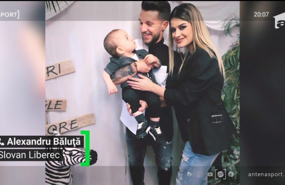 Alexandru Băluţa nu va putea asista la naşterea primului său copil