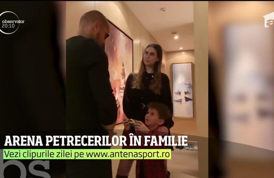Prințul Boateng, party în familie