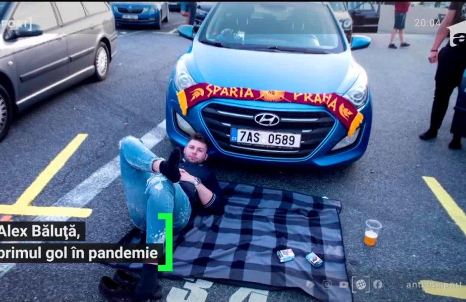 Băluță a dat primul gol românesc pe timp de pandemie!