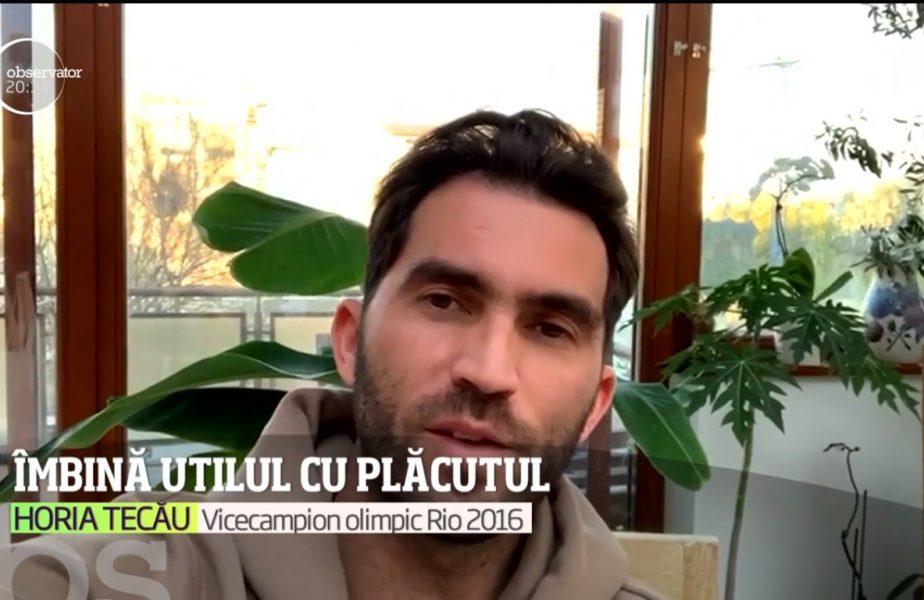 Horia Tecău s-a închis în casă și s-a pus cu burtă pe carte