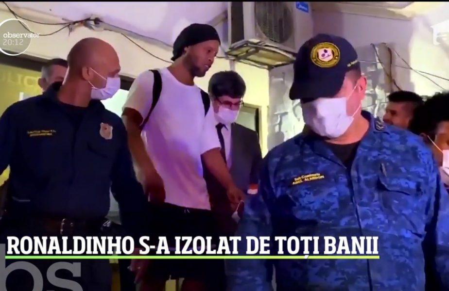 Ronaldinho s-a mutat din celula la un hotel de cinci stele