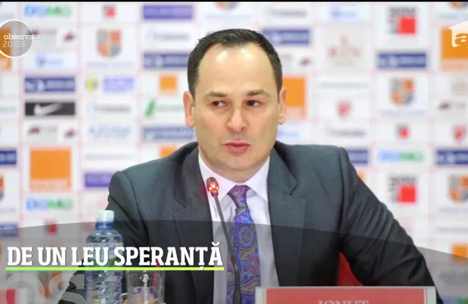 Negoiță nu vrea să mai bage niciun leu la Dinamo