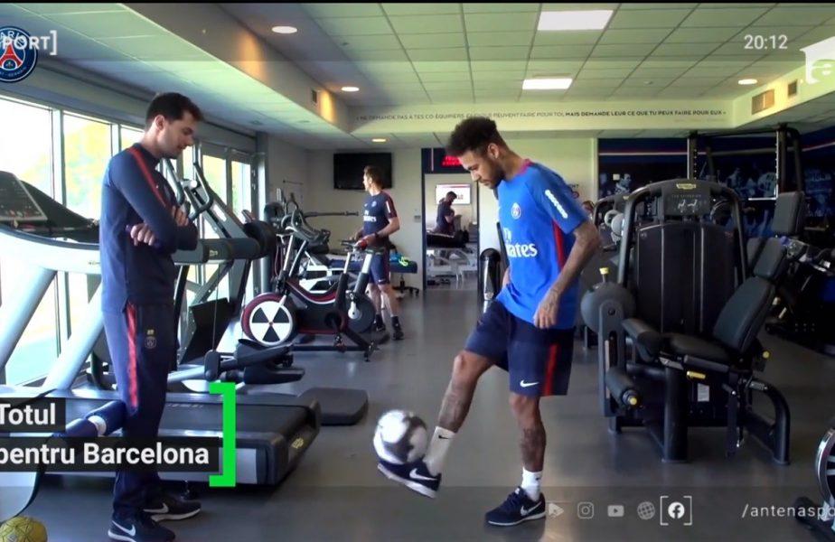 Neymar face orice ca să revină la Barcelona!