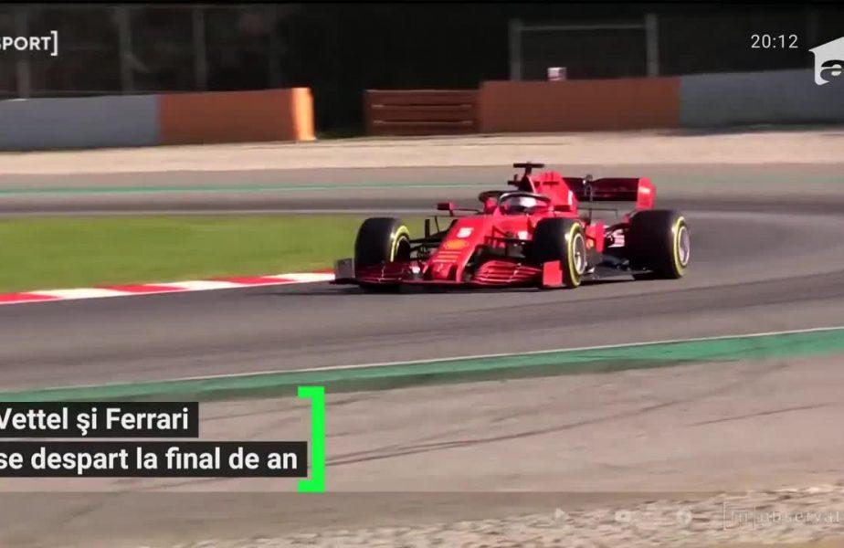 Vettel și Ferrari se despart la final de an
