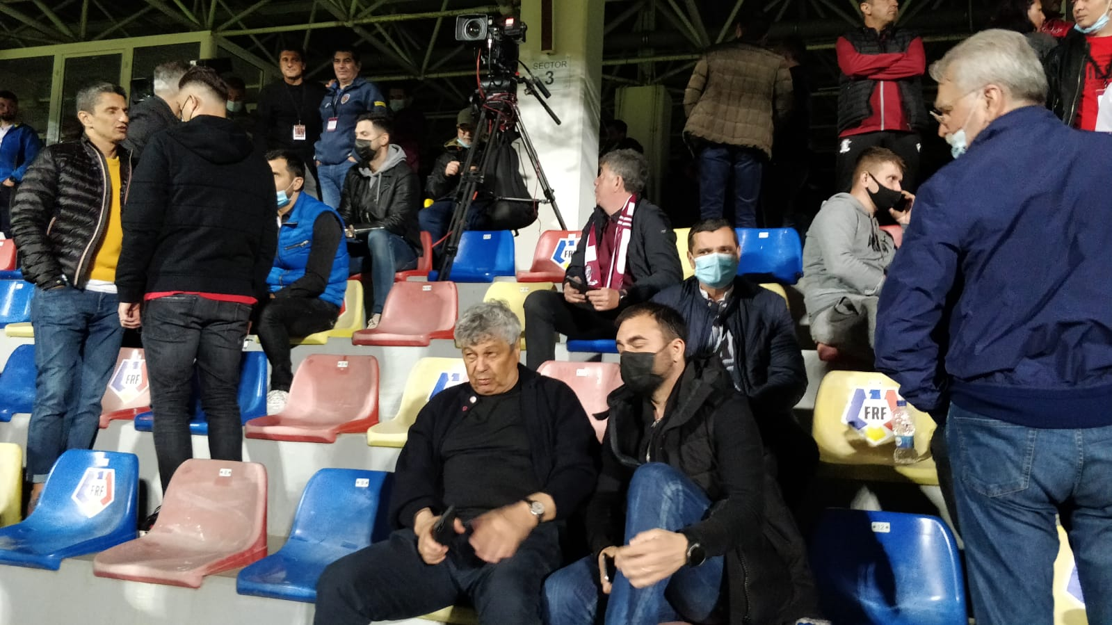 Spectatori de lux la Rapid - FC U Craiova 1948