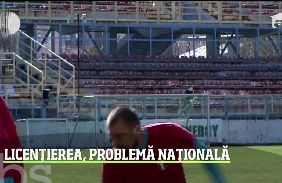Dinamo și Astra cer suspendarea licențierii pentru sezonul următor