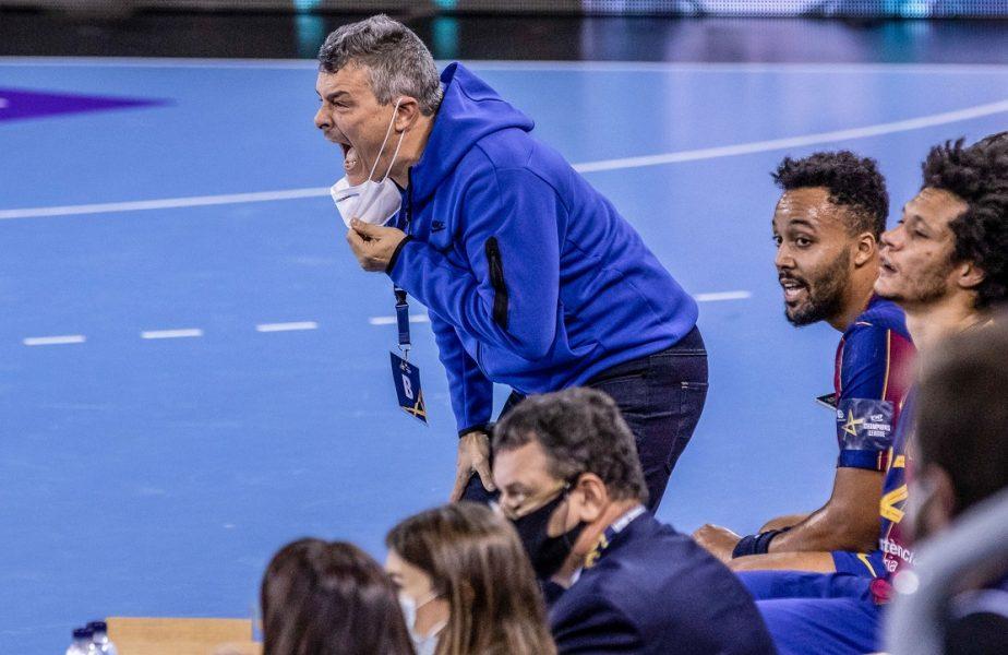 """Barcelona – Dinamo 36-32. """"Dulăii"""", trei înfrângeri la rând în Liga Campionilor. Xavi Pascual, învins de fosta echipă"""