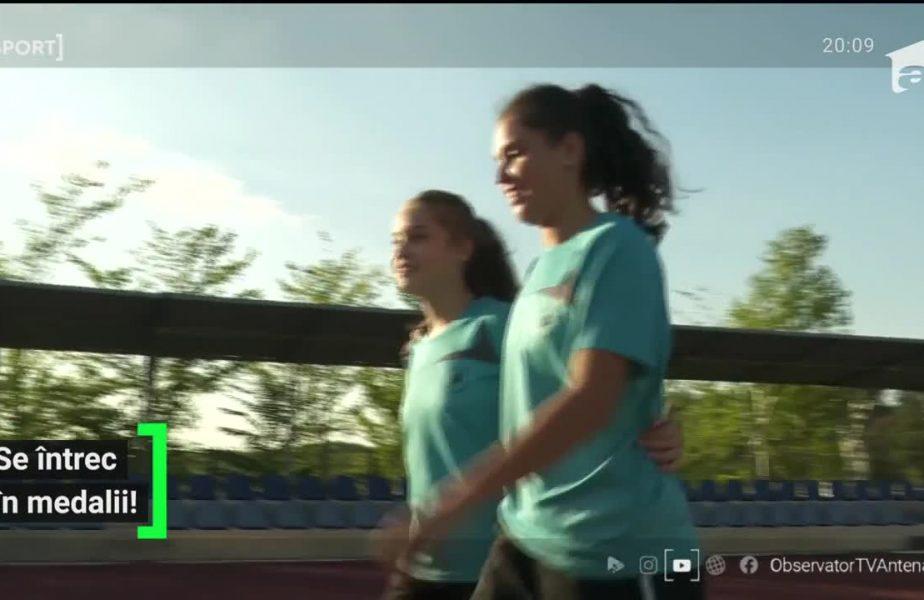 """Tenisul de masă e viaţa lor! Povestea impresionantă a surorilor îndrăgostite de acelaşi sport: """"Ne mai ciondănim, o mai caftesc"""""""