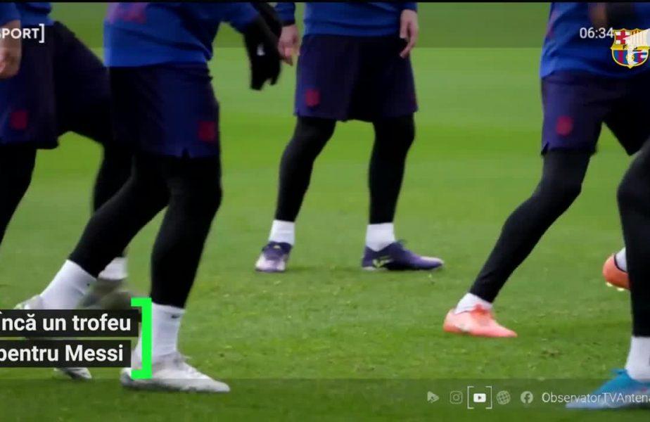 Messi, desemnat cel mai bun fotbalist din ultimul sfert de secol