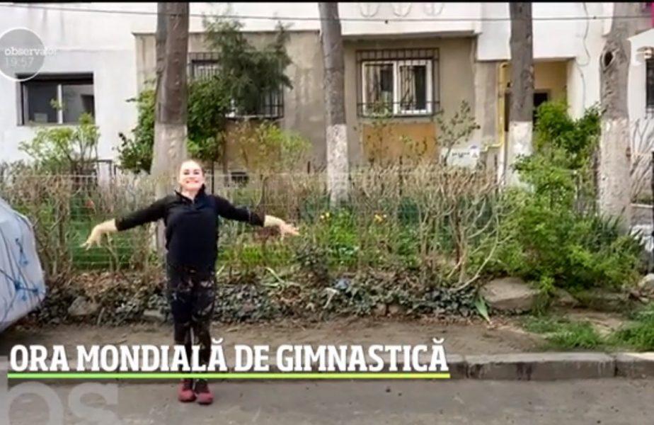 Românca ce va merge cu Drăgulescu la Tokio se dă dură pe bordură!