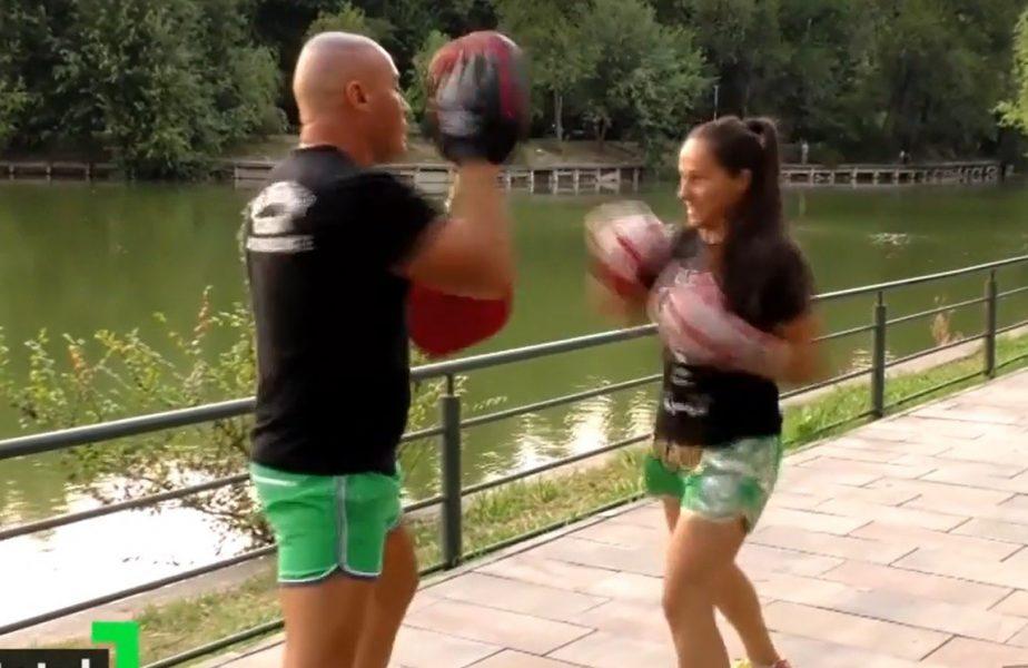 Povestea româncei care nu vrea să renunţe la niciun sport