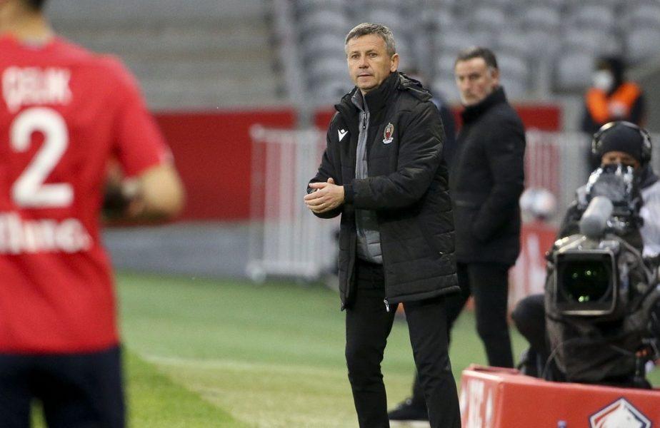 """Adrian Ursea, pus pe liber de Nice: """"Sunt mândru!"""" + Surpriză uriaşă. Cu cine ar putea fi înlocuit antrenorul român"""