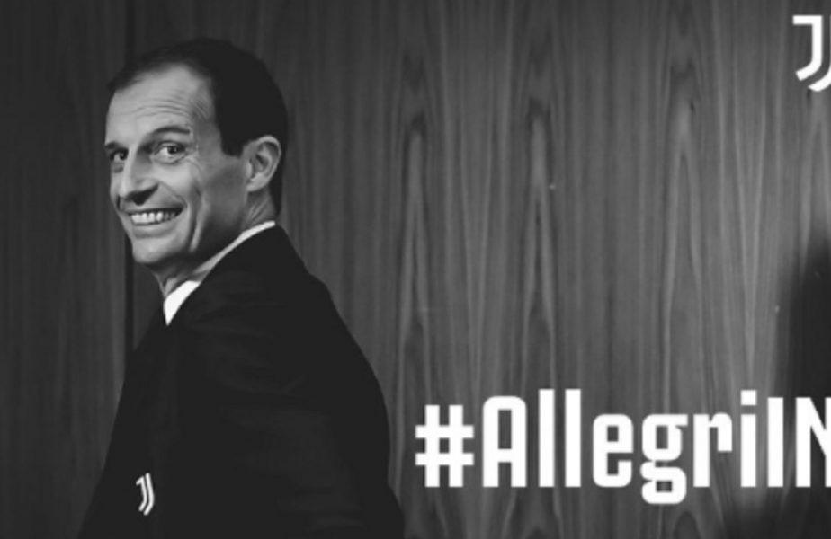 Allegri, oficial la Juventus