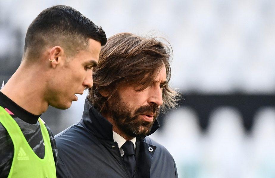 OFICIAL! Andrea Pirlo a plecat de la Juventus! Mesajul emoţionant al clubului pentru antrenor