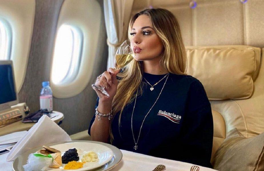 Andreea Bîrsan a convins un milionar să achite o notă de plată de 100.000 de euro. Ce a comandat Julius Maximilian într-un club din Bucureşti
