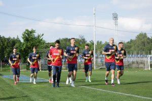 Florin Tănase și colegii săi se pregătesc la Mogoșoaia