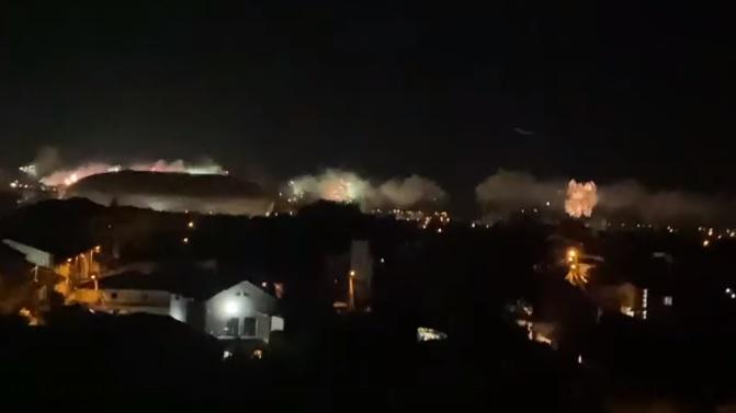 Artificii la Craiova