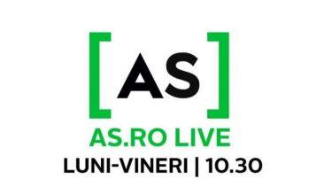 AS.ro LIVE | Adrian Pitu este, ACUM, invitatul lui Cătălin Oprișan! Poveștile fostului campion al României
