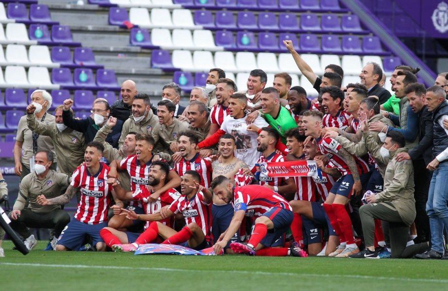 Atletico Madrid, premiu uriaş pentru câştigarea campionatului! Şi sărbătoarea alături de fani a făcut toţi banii. Imagini inedite cu Luis Suarez şi Jan Oblak. VIDEO