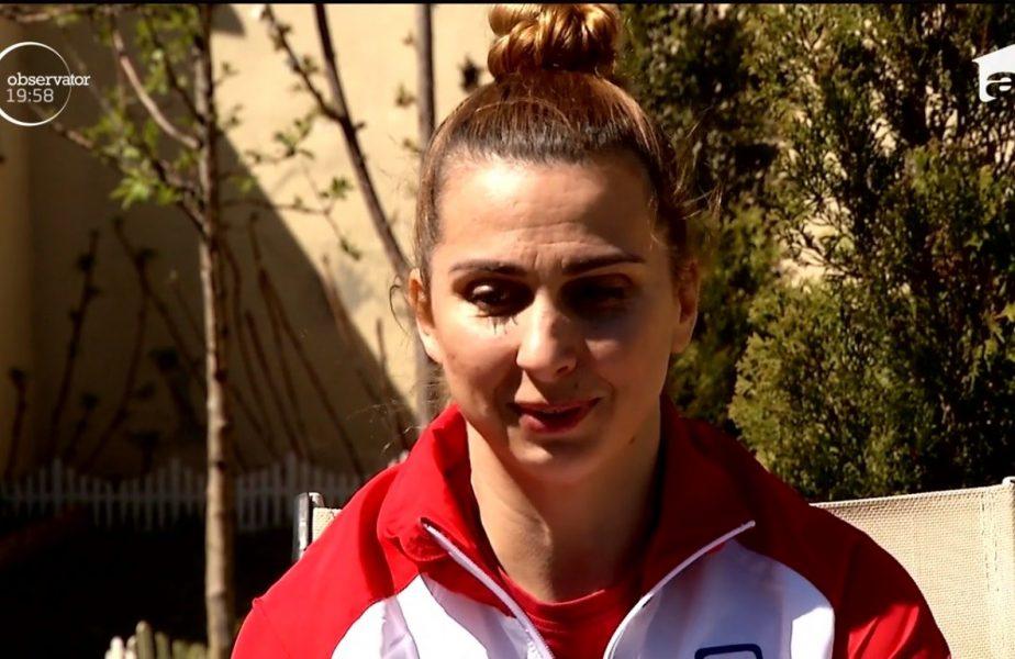 Alina Dumitru e profesoară de judo pentru nepoții ei!