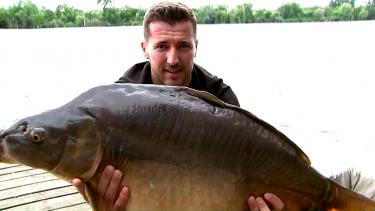 Dragoș Balauru la pescuit