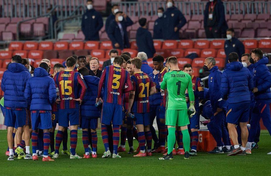 Revoluție la Barcelona! Ronald Koeman a pus 9 jucători pe lista neagră