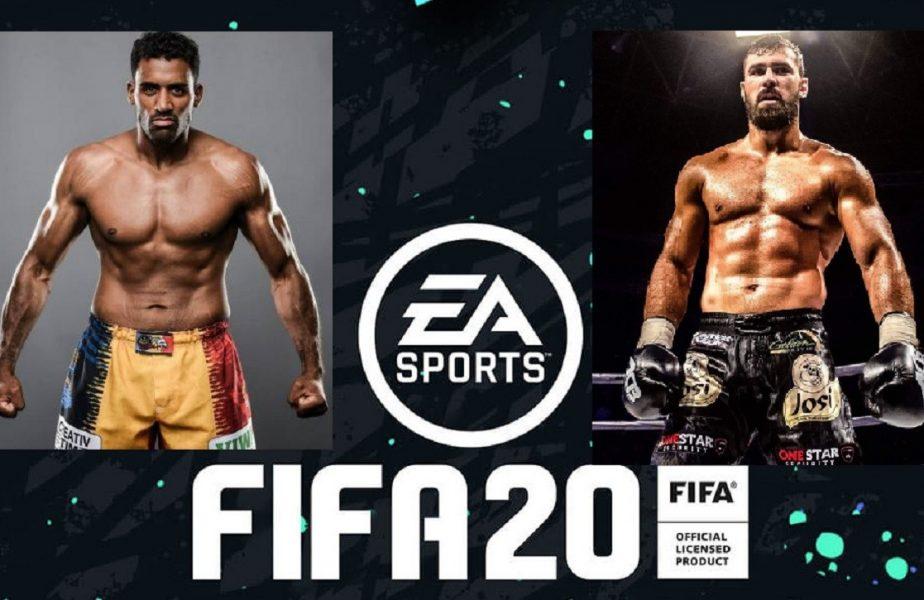 Greii Benny și Andrei Stoica au mutat luptele din ring la FIFA. Cine a câștigat