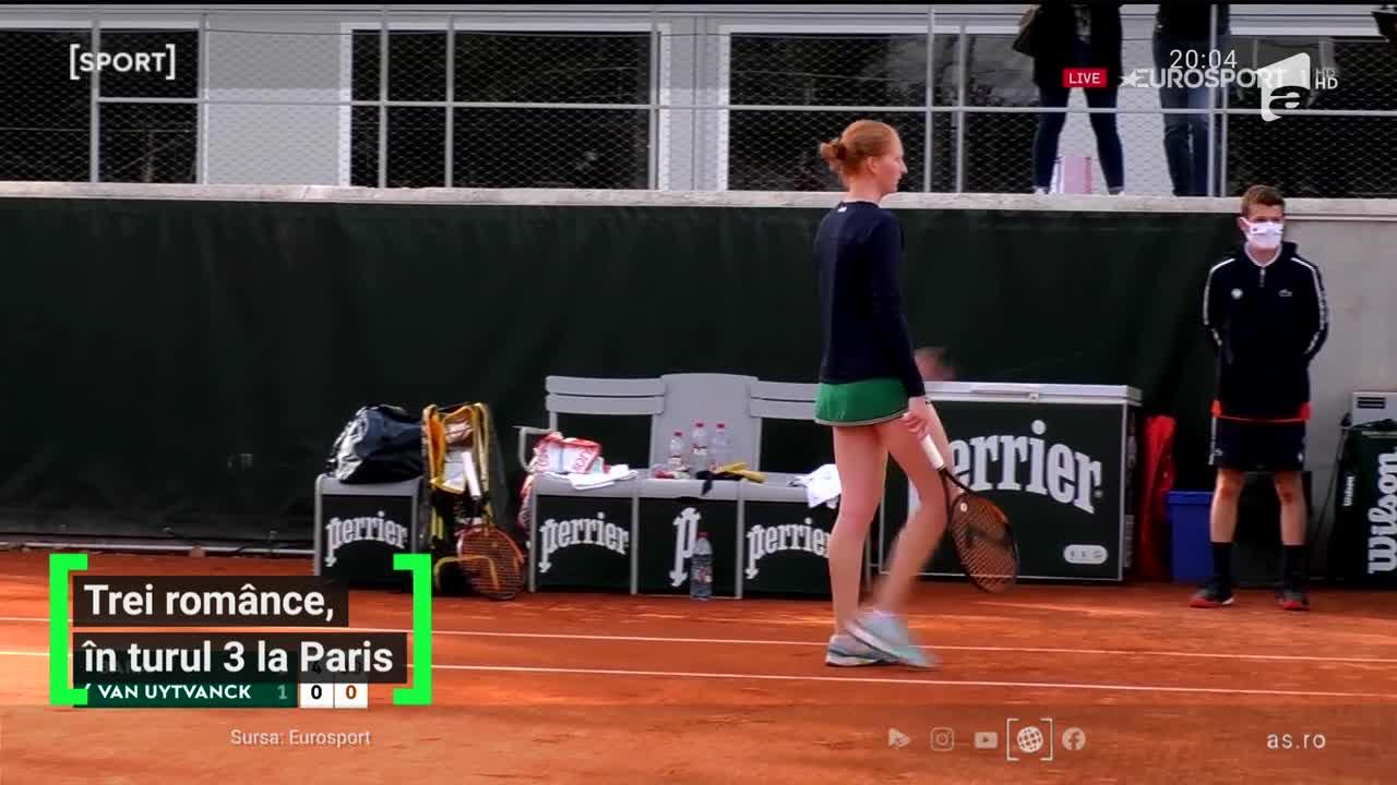 Româncele uimesc Parisul! Ţig și Bara au oferit surprizele zilei la Roland Garros