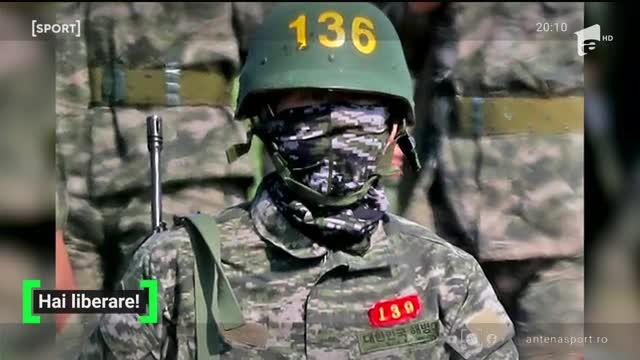 Sud-coreeanul lui Mourinho, Son, s-a înrolat în armata!