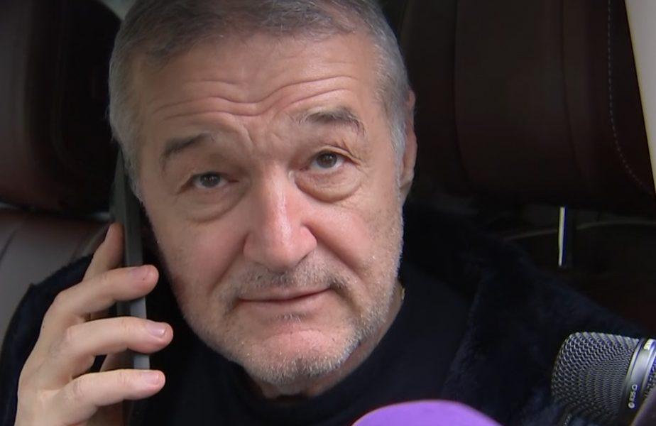 """Fabulos! Gigi Becali, filmat în timp ce vorbea la telefon despre contractul lui Şumudică! Anunţ uriaş: """"I-a zis să îi trimită contractul, să îl citească şi să îl semneze. 99% e făcut!"""""""