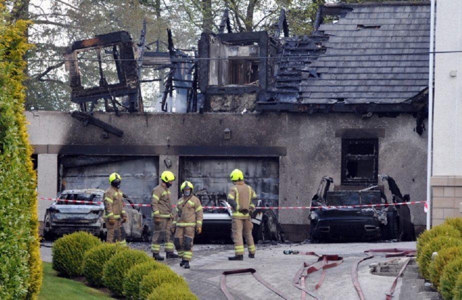 """Casa patronului de la Celtic a fost incendiată! Peter Lawwell a trăit şocul vieţii. """"A fost o explozie!"""". 40 de pompieri au intervenit"""