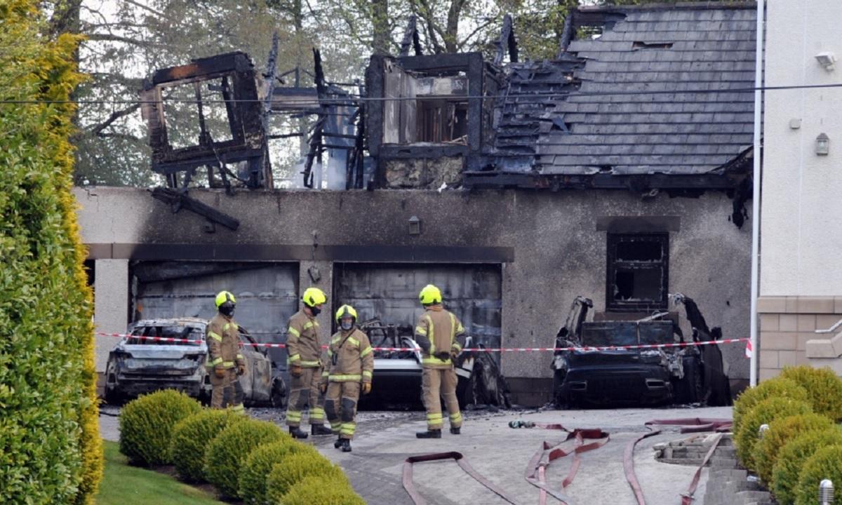 Casa patronului de la Celtic a fost incendiată