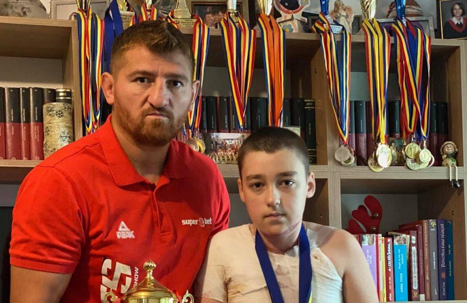 Cătălin Moroşanu a sărit în ajutorul unui elev
