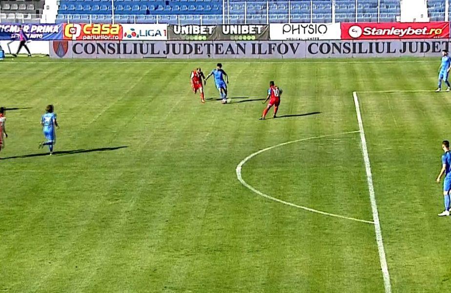Academica Clinceni a învins-o pe FC Botoşani