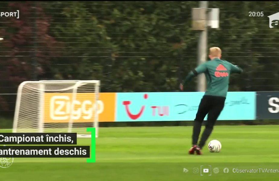 Răzvan Marin a reluat antrenamentele cu Ajax