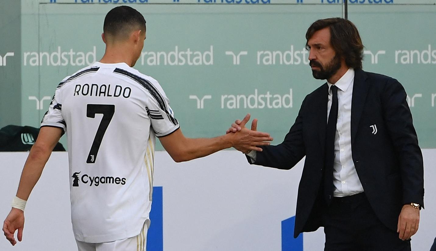 Cristiano Ronaldo, doar rezervă într-un meci crucial! Explicaţiile lui Andrea Pirlo şi reacţia starului portughez