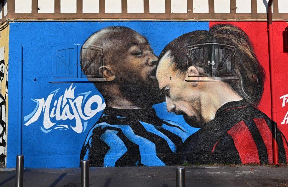 Marii rivali, pe mural