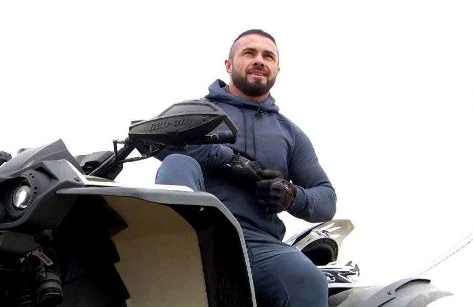 """iFight, miercuri, 12 mai, pe Antena 1   """"Tancul"""" Alin Chirilă face drifturi pe ATV. Cum vrea să sărbătorească o nouă victorie în ring"""