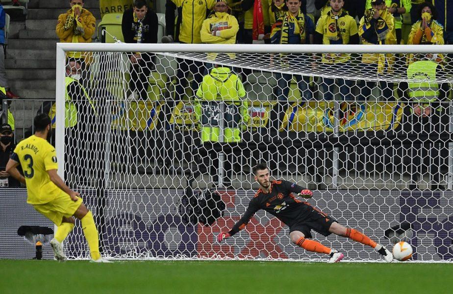 David De Gea, 40 de penalty-uri la rând în care a luat gol! Solskjaer s-a gândit să-l înlocuiască în finala Europa League + Bileţelul ignorat de spaniol