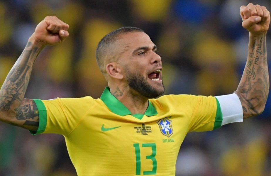 Uluitor! Danis Alves a revenit la naționala Braziliei, la 38 de ani! + vești oribile pentru Suedia: Zlatan Ibrahimovic ratează EURO