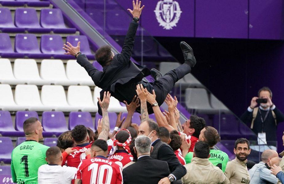 """""""Era"""" Diego Simeone continuă la Atletico Madrid! A semnat până în 2024 şi va avea un salariu uriaş la campioana Spaniei. Prima reacţie a antrenorului"""